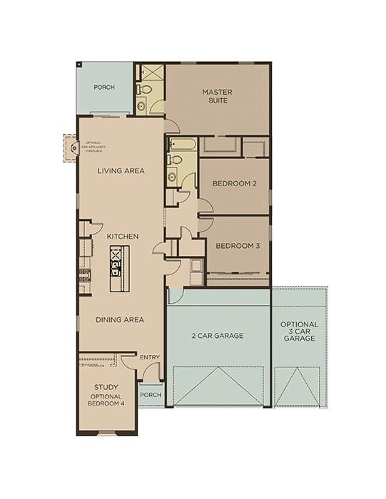 1691-PERALTA floorplan