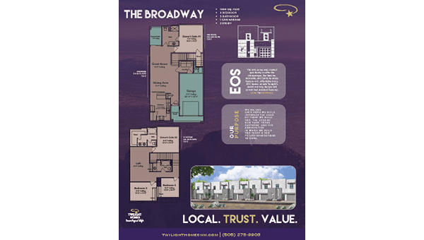 The Broadway-1 - Floorplan