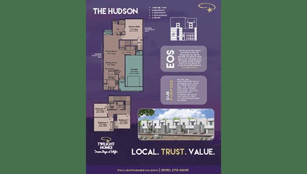 The Hudson - Floorplan