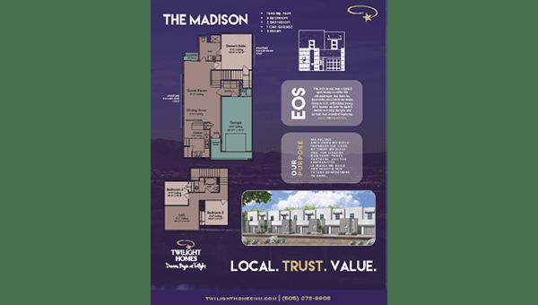 The Madison - Floorplan