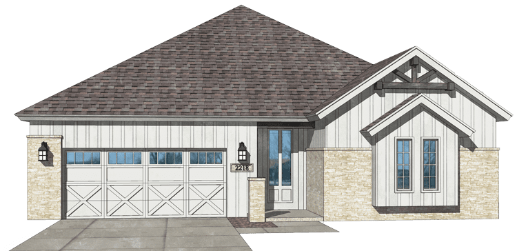 The-Georgetown-elevation--New-Homes-Albuquerque