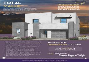 The Hudson | Estrella Del Norte | New Homes Albuquerque