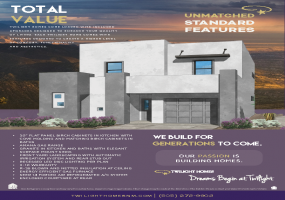 The Madison | Estrella Del Norte | New Homes Albuquerque